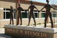 Reynolds Wing Entrance Statue
